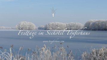 Weihnachten, Silvester und Winter Feiern