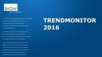 TRENDMONITOR 2016
