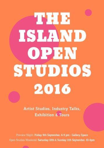 THE ISLAND OPEN STUDIOS 2016
