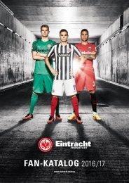 Eintracht Frankfurt Fan-Katalog 2016/17