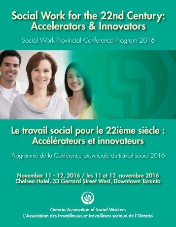 Social Work for the 22nd Century Accelerators & Innovators