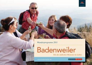 Wanderwochen - markgraefler.de