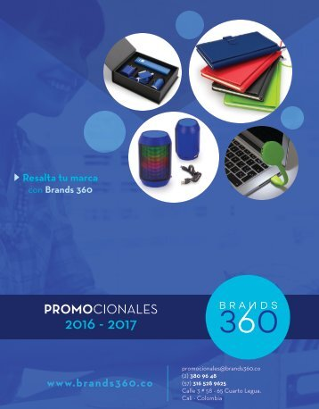 Gifts Promocionales 2016-2017