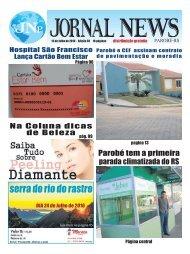 Jornal News Parobé - Edição 30 (15/07/2016)
