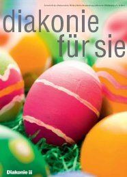 diakonie für sie 2/2011 - Diakonisches Werk Berlin-Brandenburg ...