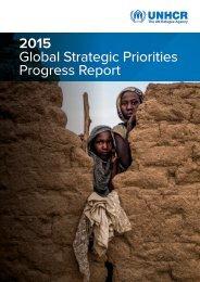2015 Global Strategic Priorities Progress Report