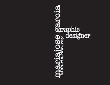 CV Mariajose Garcia Graphic Designer
