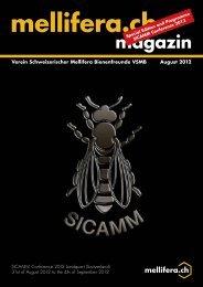 magazin - Verein Schweizerischer Mellifera Bienenfreunde