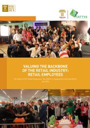 OF THE RETAIL INDUSTRY RETAIL EMPLOYEES