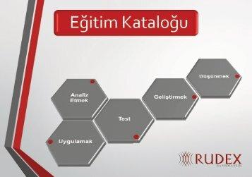 Rudex Training Catalogue