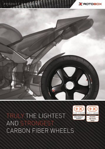 TRULY THE LIGHTEST AND STRONGEST CARBON FIBER WHEELS