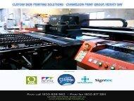 Custom Sign Printing Solutions - Chameleon Print Group, Hervey Bay