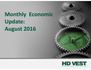 Monthly Economic Update August 2016