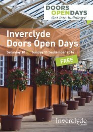 Inverclyde Doors Open Days