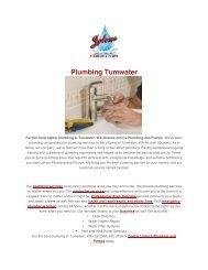 Plumbing Tumwater
