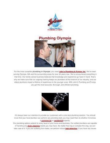 Plumbing Olympia