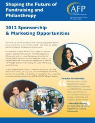 Shaping The Future Of Fundraising And Philanthropy