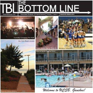 2 - The Bottom Line UCSB - University of California, Santa Barbara