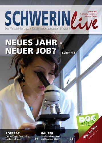 NEUES JAHR - NEUER JOB? Seiten 4-5 - Schwerin Live