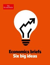 Economics briefs Six big ideas