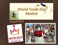 TCI Mission - World Youth Day 2011 - Madrid