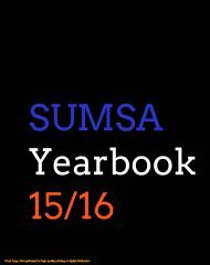 SUMSA Yearbook