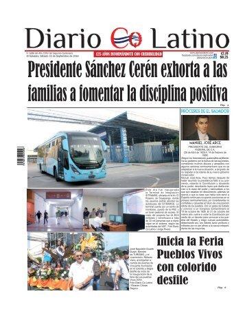 Edición 10 de Septiembre de 2016