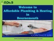 Boiler Repairs & Installs|Affordable Plumbing