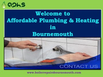 Boiler Repairs & Installs|Affordable Plumbing