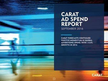 CARAT AD SPEND REPORT