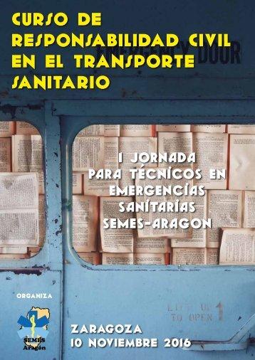 CURSO DE RESPONSABILIDAD CIVIL EN EL TRANSPORTE SANITARIO