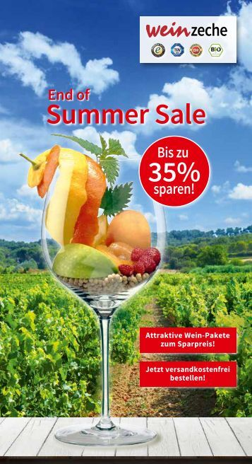 Weinzeche End of Summer Sale – Die Kunst des Genießens