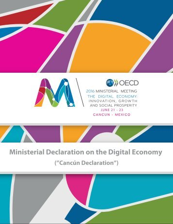 Ministerial Declaration on the Digital Economy