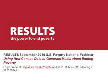 2016-09_RESULTS_U_S_Poverty_National_Webinar_Slides