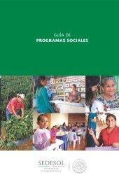 GUÍA DE PROGRAMAS SOCIALES