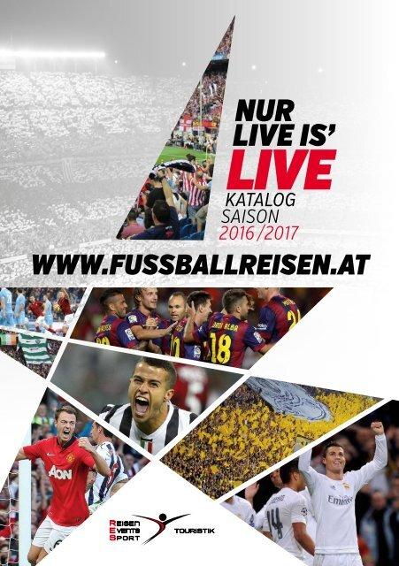 Fußballreisen Katalog 2016/17
