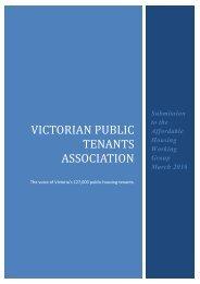 VICTORIAN PUBLIC TENANTS ASSOCIATION