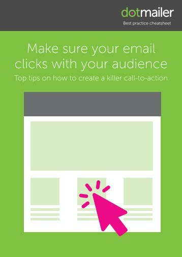 Make sure your email clicks with your audience