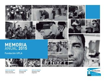 Memoria Fundación UPLA 2015