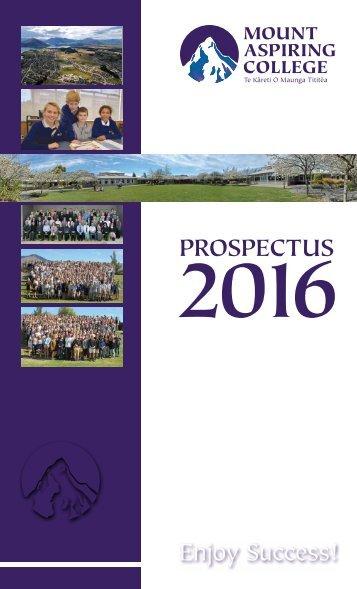 MAC Prospectus 2016