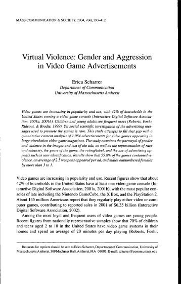virtual violence Virtual violence is not the single factor that explains youth violence social, cultural, familial and cognitive factors and how these factors are interrelated can explain more about youth violence.