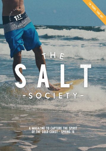 The Salt Society - Spring 16