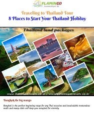 Thailand Holiday Package - Etiquette While Traveling in the Kingdom