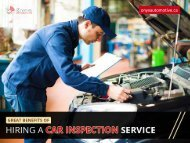 Amazing Benefits of Hiring a Car Inspection and Auto Repair in Surrey