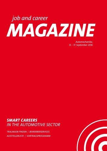 job and career at Automechanika MAGAZINE Web