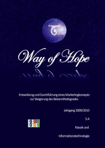 Way of Hope (Weizer Pfingstvision) - BHAK BHAS Weiz