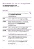 CATEGORIES & DEFINITIONS - Page 2