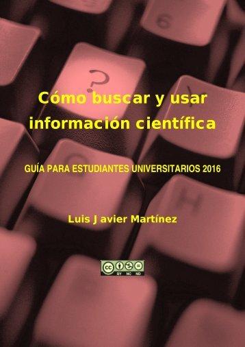 información científica