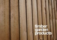 Global Timber Garden Products Brochure 2015