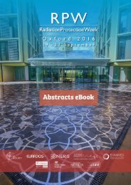 Radiation Protection Week Abstracts eBook